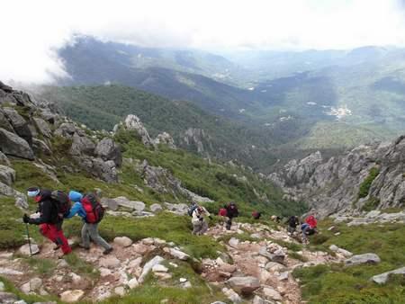 Подьём на перевал Bocca D'Oru. Фото из интернета. чтобы вспомнить. Я не фотографироавла, не было видимости и сил достать камеру.