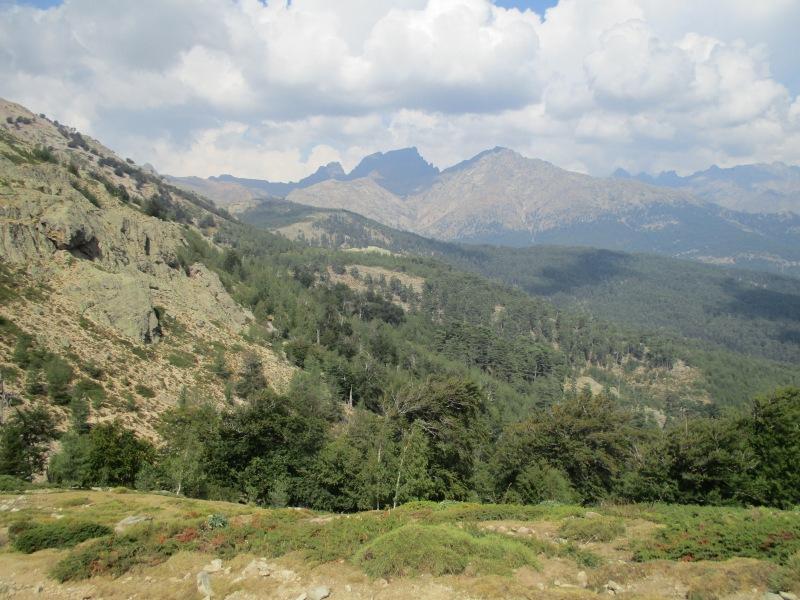 Вид на окрестности с перевала Сан Педро.
