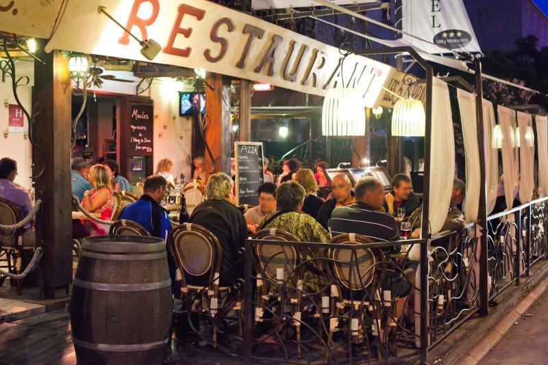 Ресторан Les 3 Terrasses
