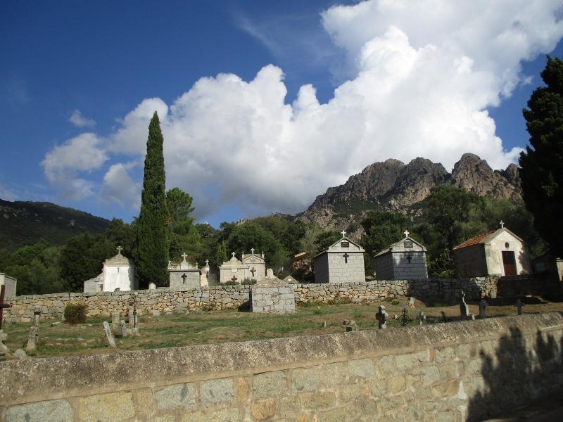 Кладбище в Конке.