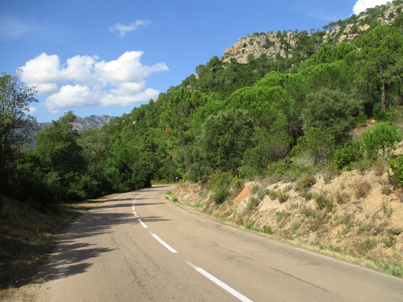 Дорога из Конки в Санта Лючию.