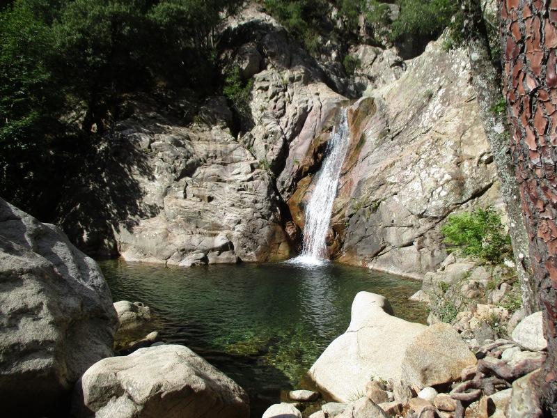 Водопад и манящая заводь.