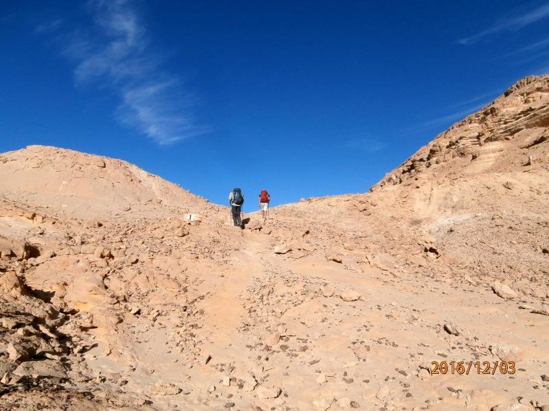 Последние метры 16-ти километрового похода во 2-й день.